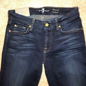 """7 for All Mankind Kimmie bootcut jeans size 29"""""""